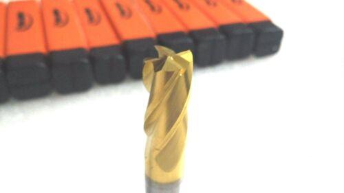 """ONE NEW HERTEL CARBIDE ENDMILL 1//2/""""X1//2/""""X1/""""X3/"""" LOC 4FL TCE15600D LOWEST PRICE"""