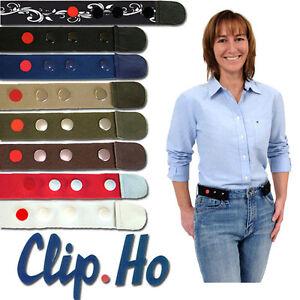 NEU!!! Gürtel ohne Schnalle Clip Ho