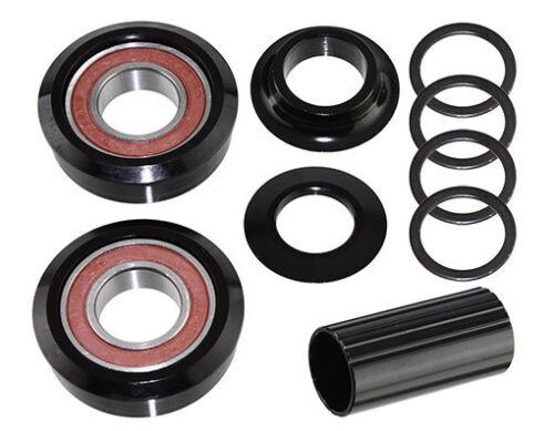 22mm Bottom Bracket Kit Sealed American 22mm Bottom Bracket Kit Black BBSET BMX