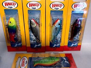 Vintage-Halco-Trembler-70-Fishing-Lure-Choice-of-Color-One-Package