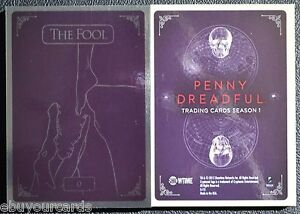 Penny-Dreadful-Complete-Tarot-Foil-Set-0-VIII-Insert-Chase-Trading-Cards-SHO