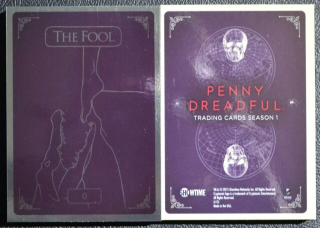 Penny Dreadful Complete Tarot Foil Set 0 - VIII Insert Chase Trading Cards SHO