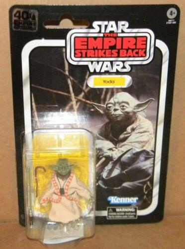 "YODA 40th Anniversary Black Series 6/"" Star Wars Empire Strikes JEDI MASTER"