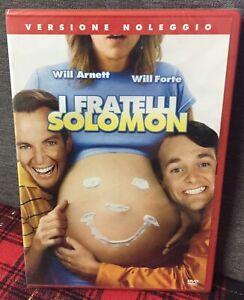 I Fratelli Solomon (2007) DVD Rent Nuovo Sigillato Will Arnett Will Forte