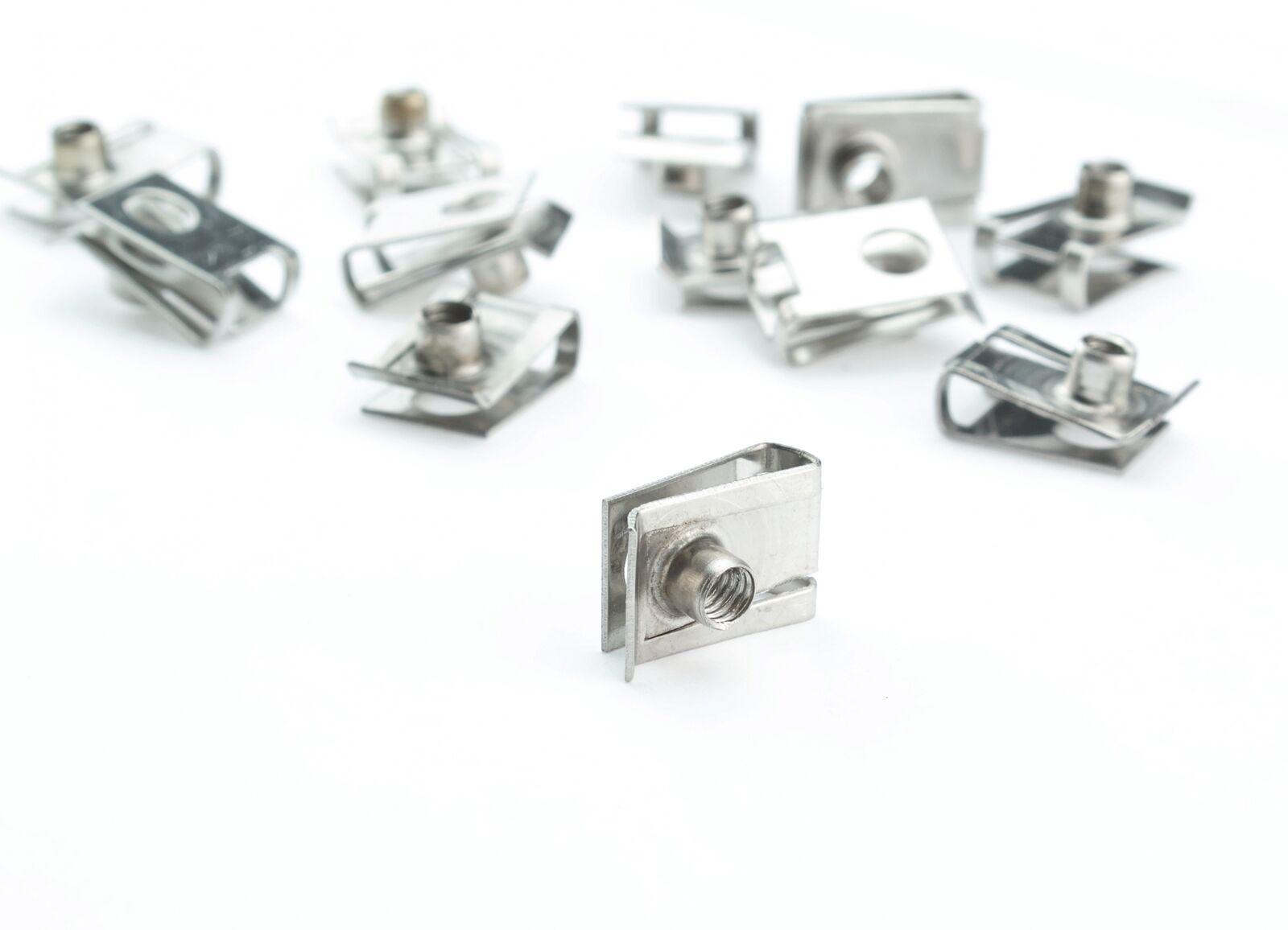Edelstahl Blechmutter M4 Clips Klemmen A2 Schnappmutter Federmutter metrisch 4mm  | Mittel Preis