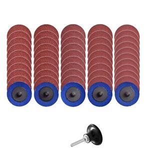 1X-50Pcs-Roloc-Disques-a-Changement-Rapide-Disques-de-PoncAge-de-2-Pouces-avec