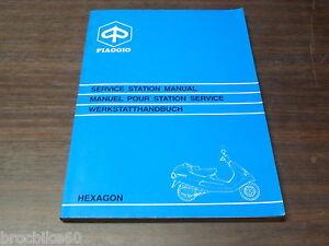 manuel revue technique d atelier piaggio hexagon 125 150 1994 rh ebay co uk Piaggio Sfera Piaggio Typhoon 125