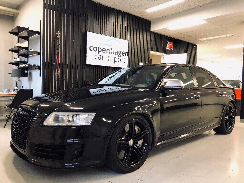 Audi RS6 5,0 TFSi quattro Tiptr. 4d