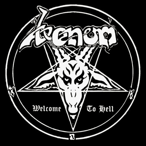 Venom Welcome To Hell Black Metal Canvas Patch War With Satan Countess Bathory