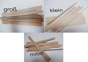 Rührstäbchen Rührstab aus Holz Rührer Holzleisten Stab Rührhölzer Farbe neutral