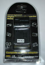INOV8 Compatible  Battery Charger + CAR ADAPTER for NIKON  EN-EL2 BC1151 - NEW
