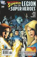 DC Supergirl and the Legion of Superheroes comic issue 30