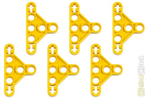 6x Lego ® Technic 99773 3 x 5 Liftarm Triangle Yellow Thin NEW Yellow Triangle Thin