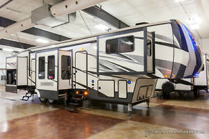 2018 Luxury Front Living Room Fifth Wheel Model 379flok Ebay