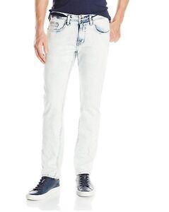 af52ba11 Buffalo David Bitton Men's Evan Super Slim Staright Leg Jean light ...