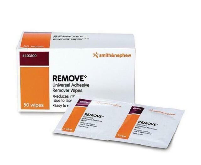 Smith & Nephew Remove Universal Adhesive Remover 50 Wipes