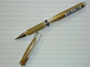 uni-ball Signo broad metallic GOLD pen UM153 gel ink acid free deco uni UM-153