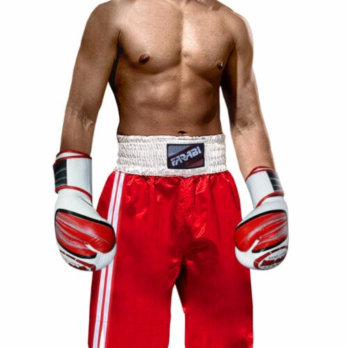 Farabi Pro Boxing Shorts for Boxing MMA Training Punching Sparring Fitness Gym