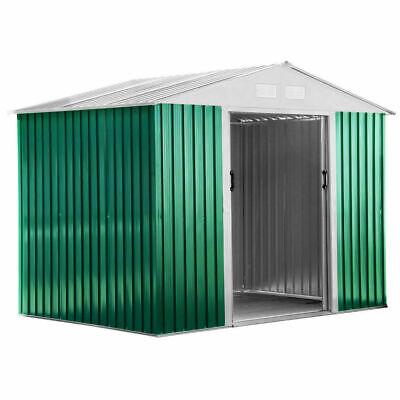 Habit Box casetta in lamiera da giardino 261x181x198cm per esterno verde Basic L