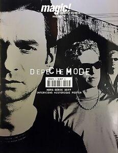 Depeche-Mode-Magazine-Magic-Hors-Serie-2001-Interview-Historique-Poster