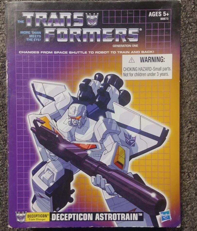 Transformers G1 reissue ASTredRAIN MIB white commemorative hasbro RARE 2012