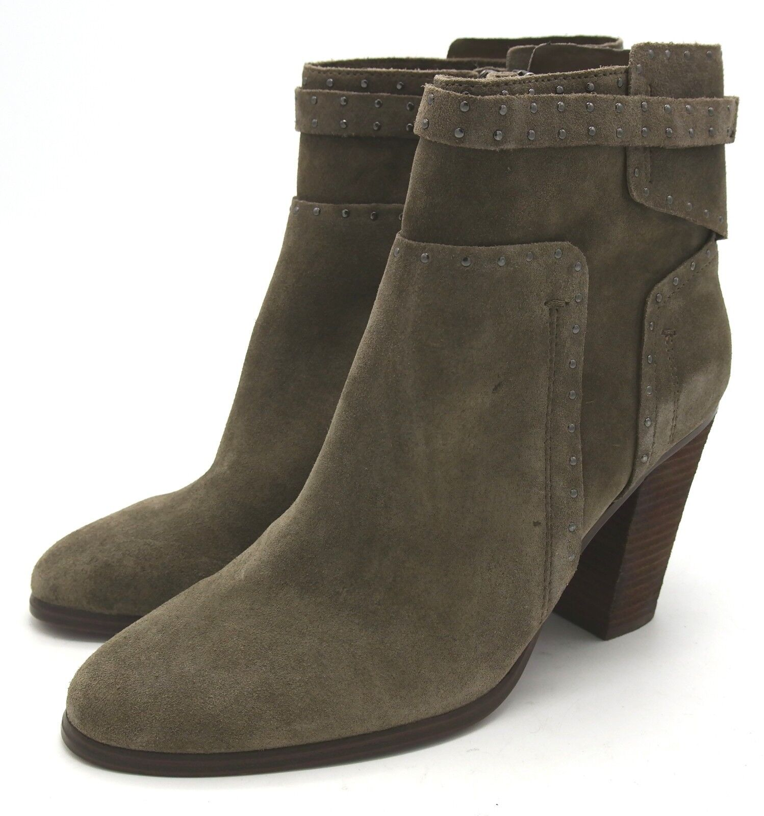 J6463 New Womens Vince Camuto Faythes Velvet Dream Suede Leather Bootie 8 M