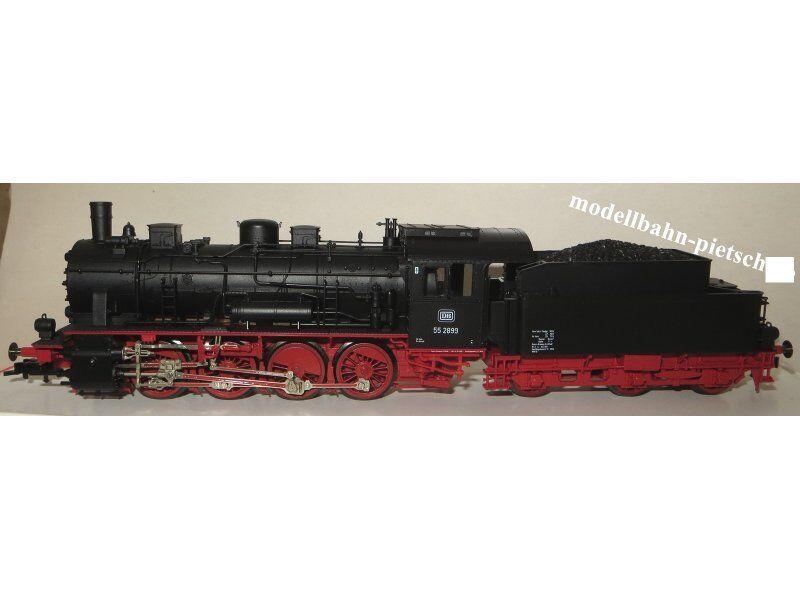 Fleischmann h0 97 4155, DB BR 55 2899, Modello Speciale, Nuovo, Confezione Originale