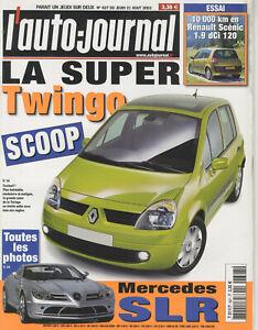 L-039-AUTO-JOURNAL-n-627-21-08-2003MERCEDES-SLR-MINI-COOPER-S-JOHN-COOPER-AUDI-A8-V8