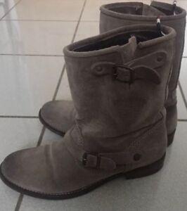 Tommy Hilfiger Boots Schuhe gr.38 Neuwertig Leder