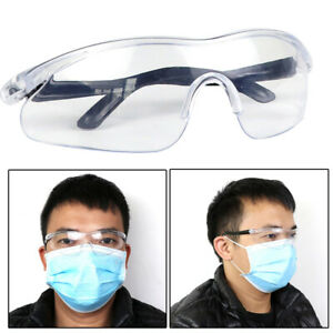 Lab Work Safety Protective Glasses Clear Goggles Chemical Wind Dust Proof