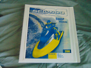 2000 Polaris Sea-Doo Ski RX RX DI GTX DI  Watercraft Repair Service Shop Manual