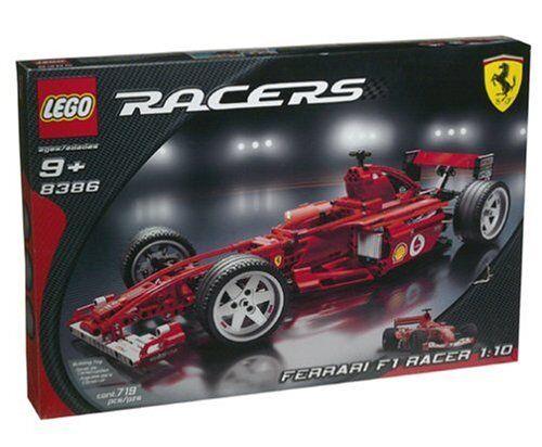 Nuovo Lego Piloti 8386 Ferrari F1 Racer 1:10 Sigillato - Navi in Tutto il Mondo