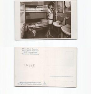 (b90171) Chambre De L'unité Classe Double Vis Moteur Bateau Monte Cerv-n Motorschiff Monte Cervfr-fr Afficher Le Titre D'origine