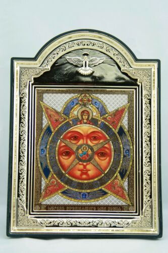 All-Seeing Eye Icon Всевидящее Око Икона Allsehendes Auge Ikone Oeil Qui Voit