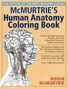 McMurtries Human Anatomy Coloring Book A Systemic Approach To The