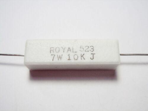 2 x 10K 7W Leistungswiderstand Leistungs Widerstand #17W08
