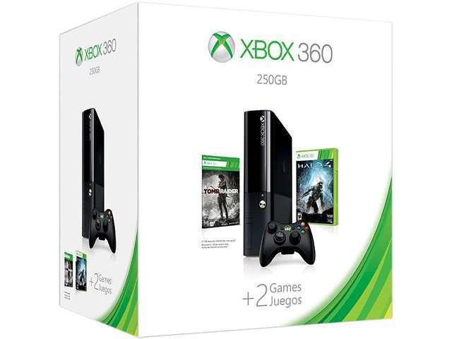 Microsoft Xbox 360 S Skyrim & Forza 4 Holiday Bundle 250GB ...