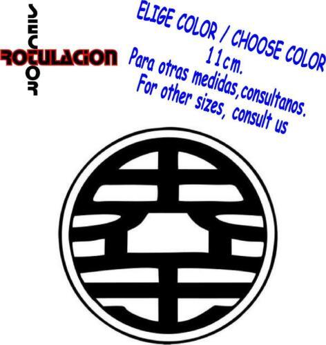 r2115 Dragon Ball Z Saiyan Goku Pegatina Vinyl Decal Sticker