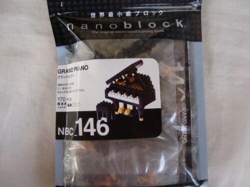 Grand Piano Nanoblock Building Blocks 170 pieces Great MUSIC Gift NIB