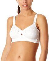 Berlei B512 White Classic Cotton Full Coverage Soft Cup Bra New Womens Lingerie