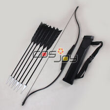 """51"""" The Hunger Games Katniss Everdeen Bow Arrows and Arrow Holder Cosplay Props"""