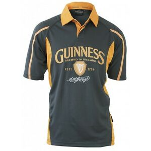 Official-Guinness-Charcoal-and-Mustard-Mesh-Rugby-Shirt
