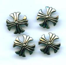 SET á  4  x  Conchos Conchas Celtic Cross Keltenkreuz Nieten 672