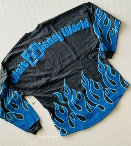 2020 Disney Parks Disney World Hades Blue Black Halloween Spirit Jersey XL