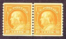 US 497 10c Franklin Mint Pair VF-XF OG NH SCV $85
