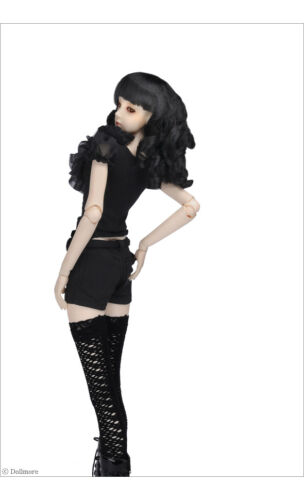 "Black Dollmore 26/"" BJD girl clothes Model F GG Short Pants"