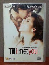 Till I Met You   DVD  Tagalog w/English Subtitles  LIKE NEW