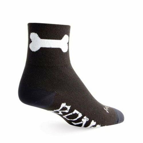 "Socks Classic 3/"" Bone L//XL Cycling//Running SockGuy"
