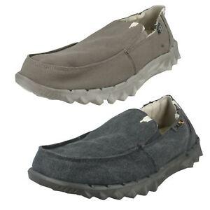 Para-Hombre-HEY-DUDE-pedos-chalet-Slip-On-Forrada-De-Piel-Sintetica-Zapatos-De-Lona-Informal-House