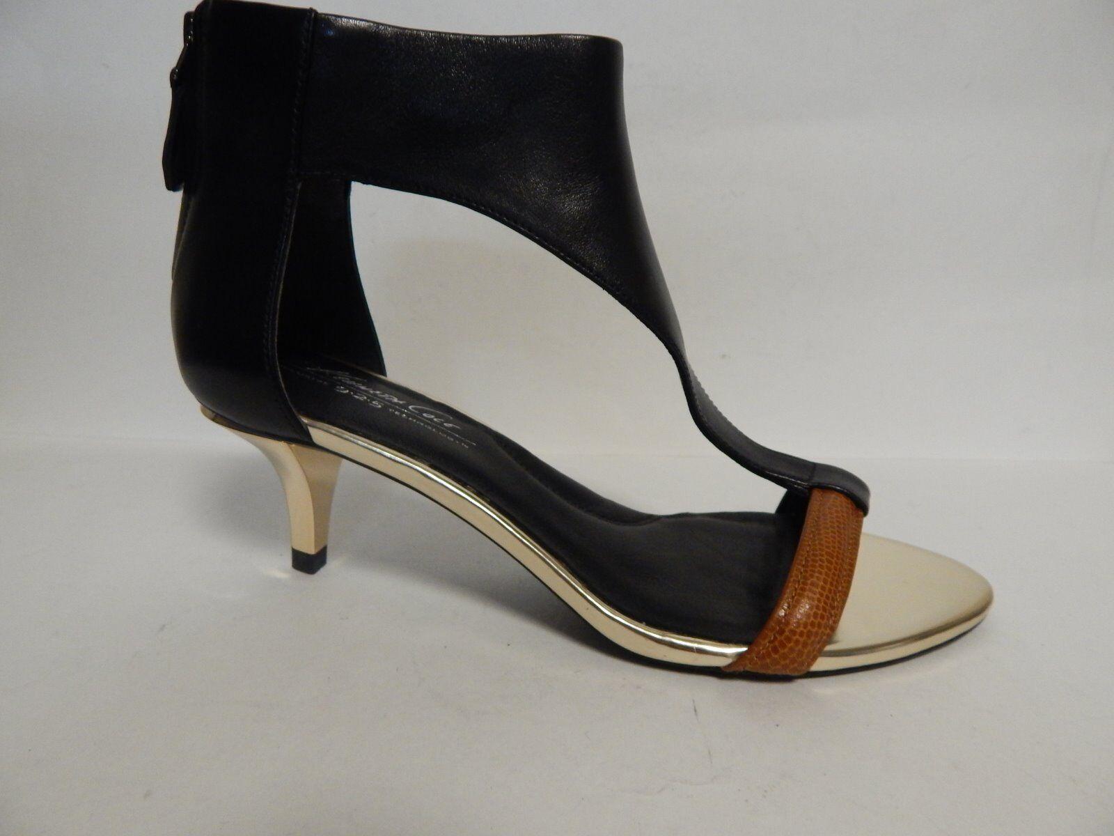 Kenneth Cole Havemeyer Leather Sandal Black    New with Box 77eba3